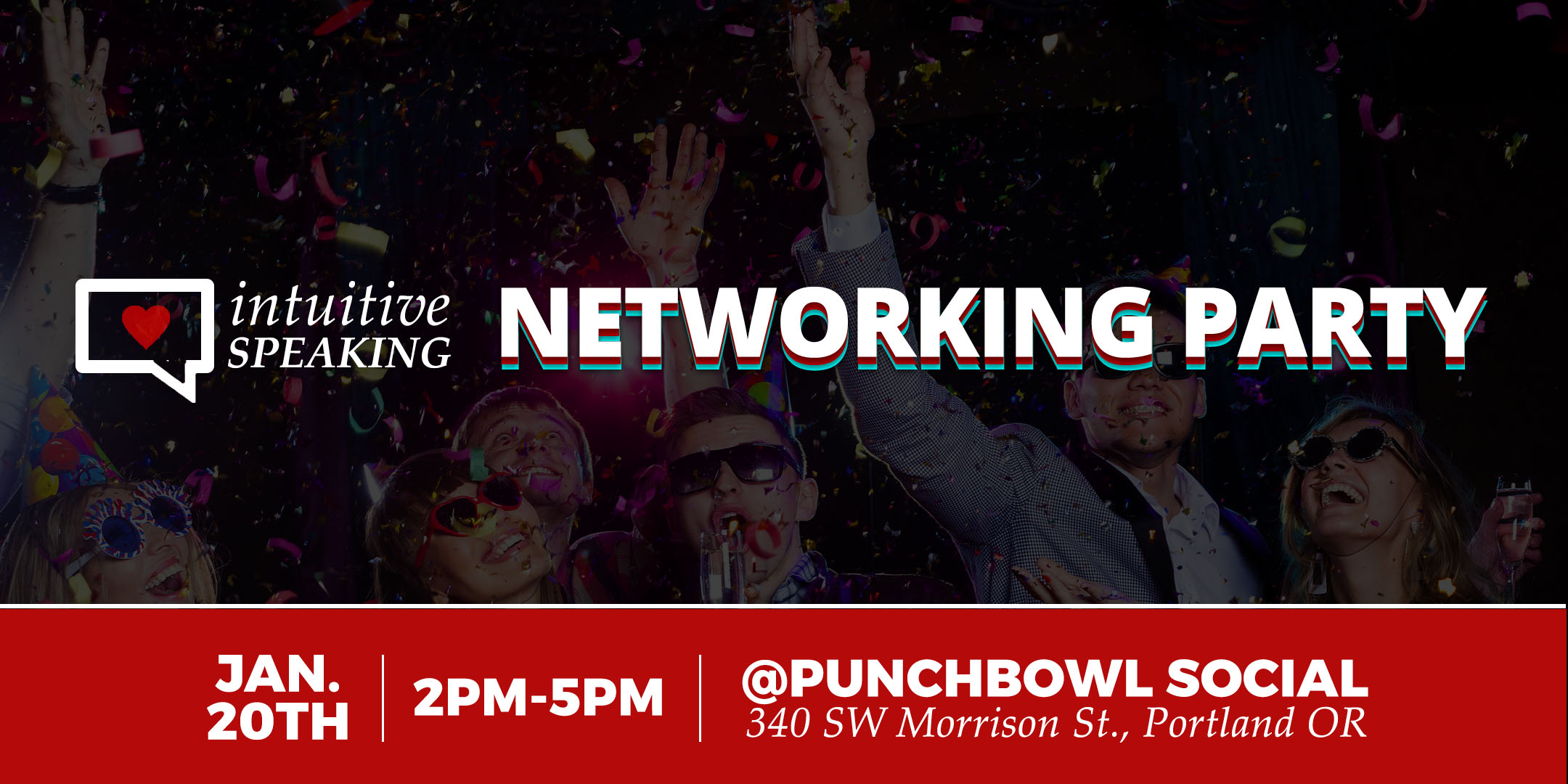 Intuitive Speaking - Networking Party
