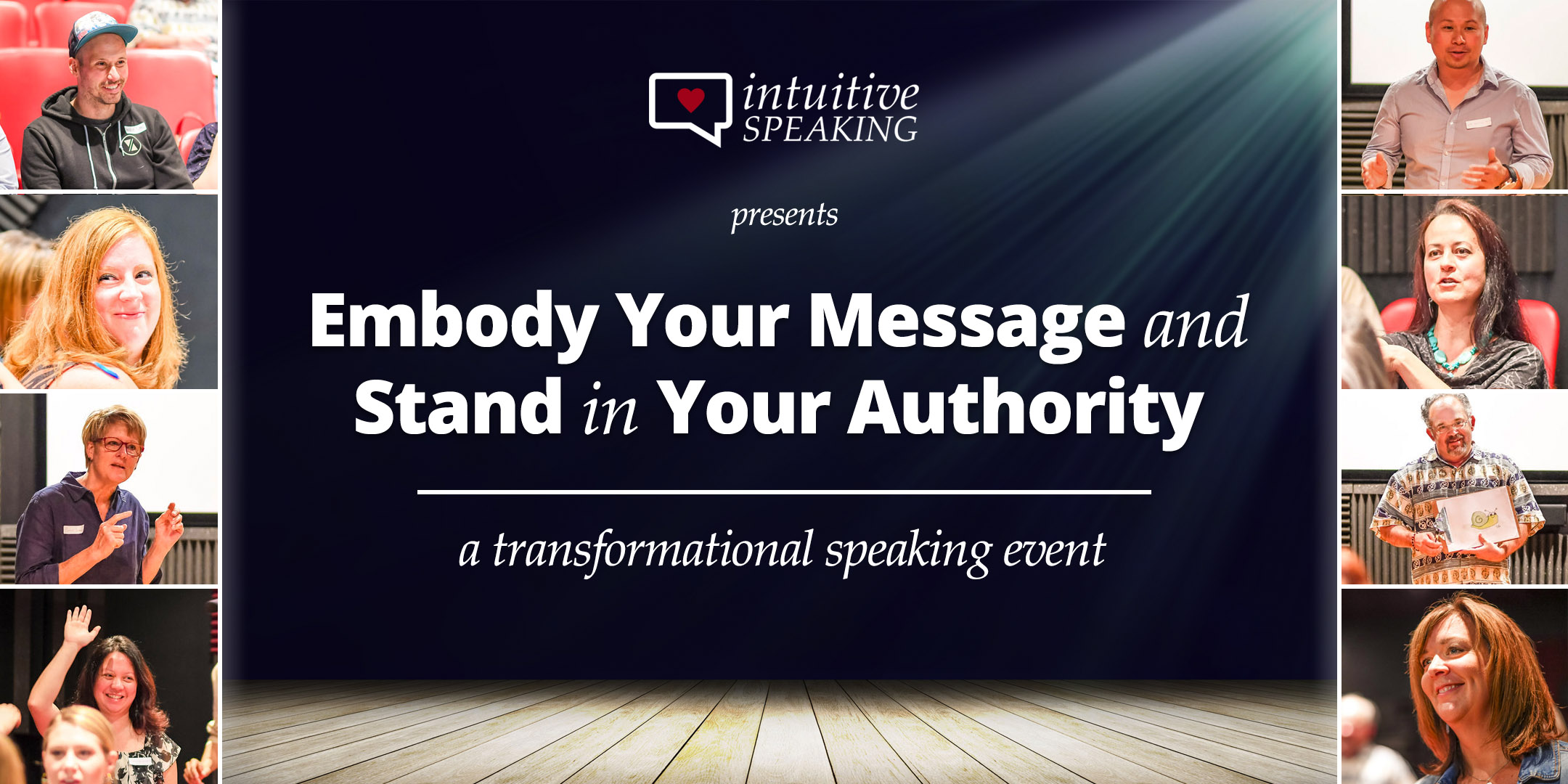 Intuitive Speaking - Embody Your Message